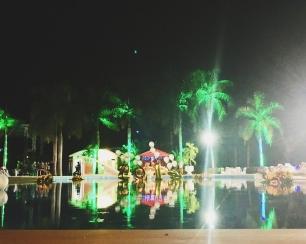 HUGE pool - decoration goals