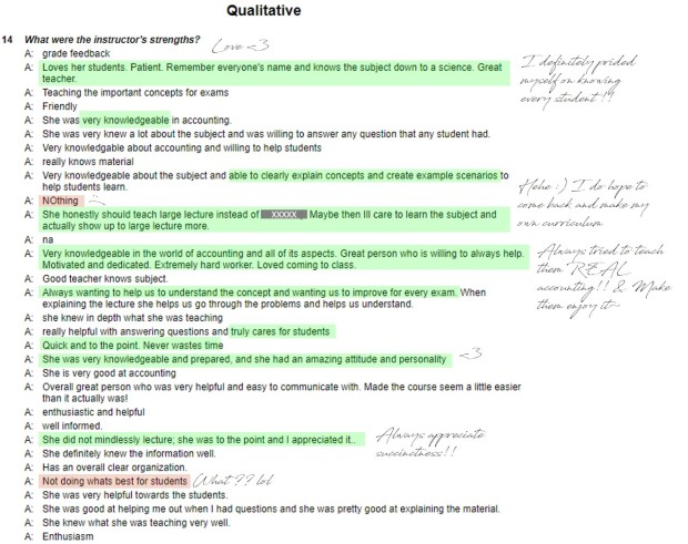 Student Reviews 1