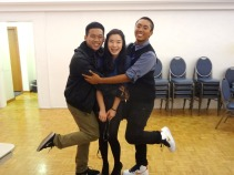 I was so happy to be Junior Facilitators with Roy and Dominic!