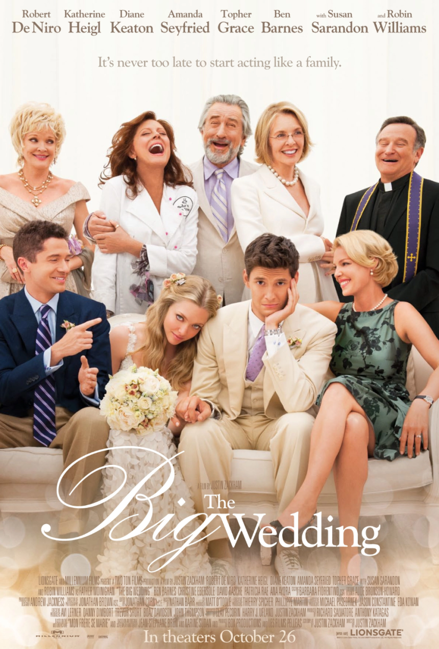 The Big Wedding - Poster Gallery